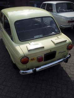 Love my cutie's butt ; Fiat 850, Airplanes, Boats, Automobile, Vehicles, Car, Ideas, Planes, Ships