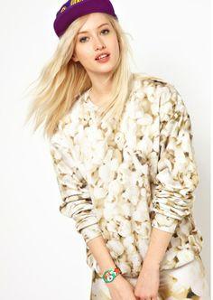 Multi Long Sleeve Popcorn Pattern Sweater - Fashion Clothing, Latest Street Fashion At Abaday.com