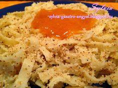 Sylvia Gasztro Angyal: Grízes tészta
