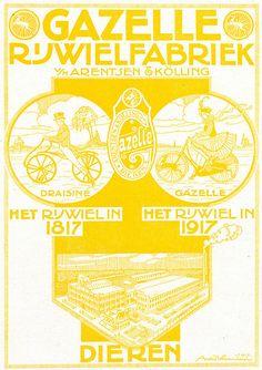 Dutch Bicycle History: Gazelle Rijwielen