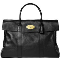 Mulberry Piccadilly Leather Holdall | MR PORTER