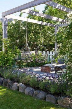 50+ Backyard Ideas on A Budget_15 #backyardlandscaping