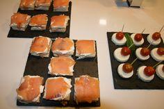 Minisandwich de salmón