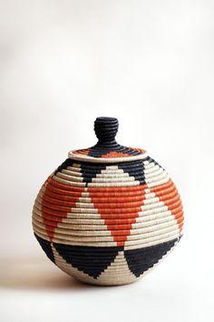 Lidded Floor Basket
