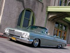 .clean..the only way it should be..1962 Chevrolet Impala Front View
