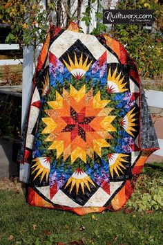 My other Reclaimed West Quilt - this one is Summer Solstice!
