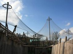 Metal Wire Meshcable Tensile Structure For Zoo PAIGNTON ZOO - 10 of the best most fascinating zoos in the world