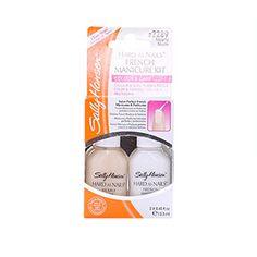 Sally Hansen French Manicure Kit Nearly Nude 2 x 13.3ml