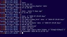 Explains how to add or subtract days using date command calculation on Linux, Unix, and macOS/*BSD operating system command line. Linux Operating System, Man Page, Open Source, Dating, Ads, Quotes