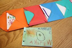 Bookmaking for Kids: Accordion Envelope Books | Family Your Way