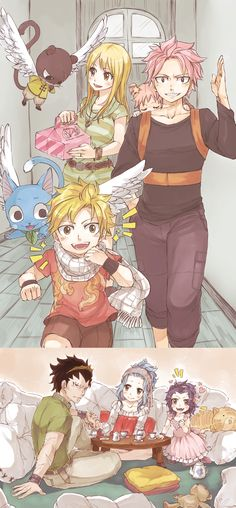 Awwwn Natsu e Lucy , Gajeel e Levy Fairy Tail Nalu, Fairy Tail Love, Fairy Tail Ships, Rog Fairy Tail, Fairy Tail Guild, Gale Fairy Tail, Fairy Tail Funny, Manga Anime, Fanarts Anime