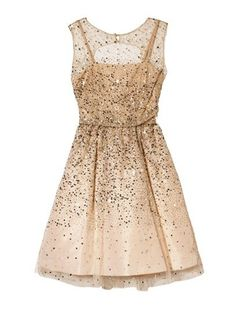 "Bridesmaid - Check out Monica Ha's ""gold sparkle dress"" decalz @Lockerz"