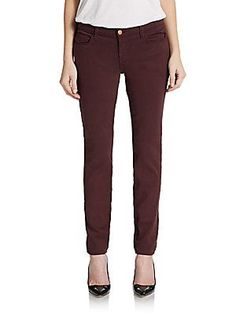 Skinny Straight-Leg Jeans/Pinot - SaksOff5th