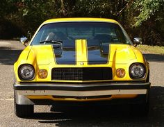 Bumble Bee in original condition 1977 Camaro  muscle cars