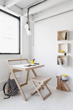 Desk and chair for bubba when older