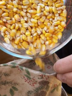 Here is how I make hot corn bags--$3 each and a wonderful gift to make!
