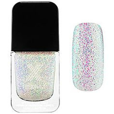 Formula X For Sephora - Transformers Top Coats in Reactive - sheer opalescent glitter  #sephora