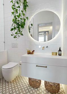 Pink Bathroom: Designs & Decoration Photos - Home Fashion Trend Ensuite, Bathroom Trends, Bathroom Inspiration, Small Bathroom Makeover, Bathroom Decor, Bathroom Makeover, Bathroom Interior Design, Home Decor, Bathroom Design