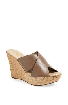 0190f15c5ac Callisto  Harlow  Wedge Sandal available at  Nordstrom Stylish Sandals