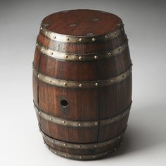 Found it at Wayfair - Mountain Lodge Barrel End Table