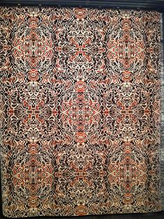 fort street studio crazy colorful carpet