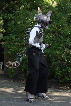 Steampunk Werewolf by SolarisPhoenix.deviantart.com on @deviantART