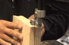 This saw is so good at slicing wood, isn't it? | The 29 Most Satisfying GIFs In The World