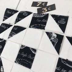 Snow-A-Long, Wk 4   Great Joy Studio #snowsweet #sweetsnowalong #greatjoystudio #rileyblakedesigns #jweckerfrisch #sewalong #sewing #quilting #christmas #christmasfabric Black And White Fabric, Half Square Triangles, Artist Canvas, Large White, Studio, Love Is All, First Photo, Cover Art, Quilt Blocks