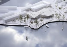 New Culture Centre and Library Winning Proposal by schmidt hammer lassen architects
