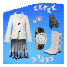 Winter Blue, created by horsieb on Polyvore