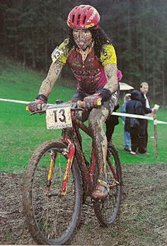 Tinker. One of the mountainbike pro's back in the 90's. Always riding for Cannondale