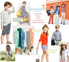 Kids Fashion: Spring Trend Report on http://blog.gifts.com