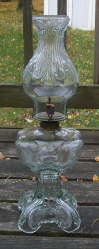 Antique Oil Lamps   You Can Find Great Deals At Local Antique Shops. Not  Only Adds Flair To The Home, But Functional In An Emergency Situation.