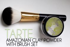 Will You Take a Shine to the Tarte Amazonian Clay Powder and Brush Set?