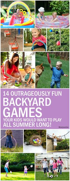 14 Outrageously Fun Backyard Games Your Kids Would Want To Play All Summer Long!
