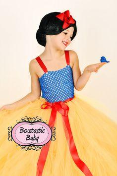 Snow Princess Tutu dress.  All Halloween by BowtasticBaby2 on Etsy, $45.00