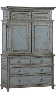 For the Southern belle. Sugarberry armoire by Lauren Ralph Lauren | Havertys Furniture