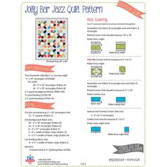 Looking for free quilt patterns and tutorials for beginners to inspire you and help you get started? Choose from hundreds of different free patterns from Fat Quarter Shop. Browse our most recent patterns today! Jelly Roll Quilt Patterns, Patchwork Quilt Patterns, Quilt Block Patterns, Pattern Blocks, Quilt Blocks, Pdf Patterns, Quilting For Beginners, Quilting Tutorials, Quilting Ideas