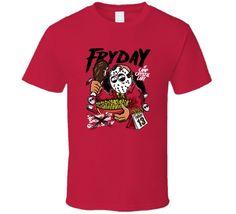 Friday The 13th Fryday Halloween Horror Movie Funny T-Shirt Newest 2017 Fashion Stranger Things T Shirt Men T-Shirt Fashion