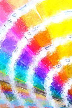 'Pantone Color Book' via Society 6