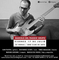 Marcelo Del Paggio Grupo Julio 2015