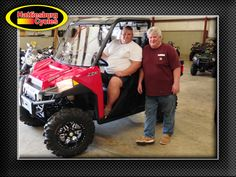 Thanks to Shane Manley and Tom Berdeaux from Wilmer AL for getting a 2017 Polaris Ranger XP 900. @HattiesburgCycles