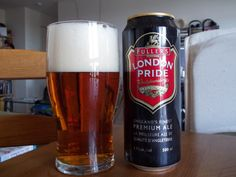Fuller's London Pride is a very smooth, easy-going and highly drinkable beer that goes well with all kinds of foods like meats, cheeses and seafood.