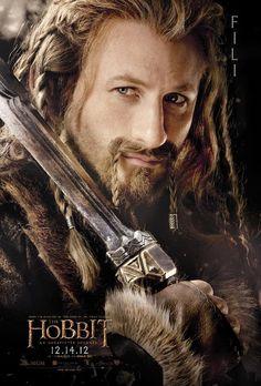 Fili, brother of Kili and nephew of Thorin