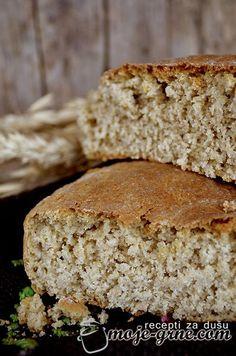 Pogača od ovsenog i raženog brašna My Recipes, Bread Recipes, Vegan Recipes, Cooking Recipes, No Bake Desserts, Dessert Recipes, Best Bread Recipe, Serbian Recipes, Bread Baking