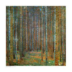 Tannenwald (Pine Forest), c.1902 Poster di Gustav Klimt su AllPosters.it