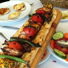 Turkish food is delicious!