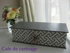 エルメス風~長方形のお道具箱 の画像|Happy Cartonnage ♪