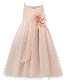 flower girl dresses in peach color for weddings | Our wedding is really coming together now :) Planning thread with lots ...