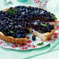 Buttermilk Berry Tart